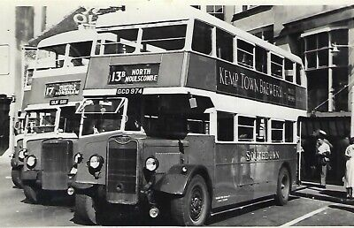 £1.50 • Buy Bus Photo: GCD974 Southdown MS (400). 1943 Guy Arab I/ Northern Counties L26/26R