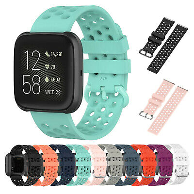 $ CDN5.06 • Buy For Fitbit Versa / 2 / Lite Strap Replacement Silicone Buckle Mesh Watch Band