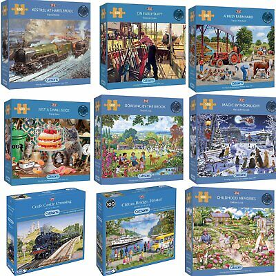 £14.35 • Buy Gibsons 500 Piece Jigsaw Puzzles Brand New   Large Selection   18 Designs