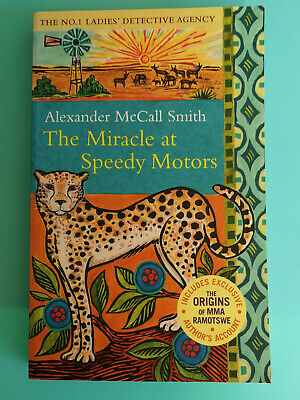 AU7.95 • Buy The Miracle At Speedy Motors By Alexander McCall Smith PB