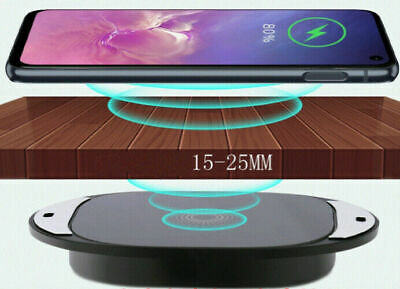 $ CDN21.31 • Buy Long Distance Wireless Charger Invisible Marble Desktop 10W Table Hidden 5W X0C0