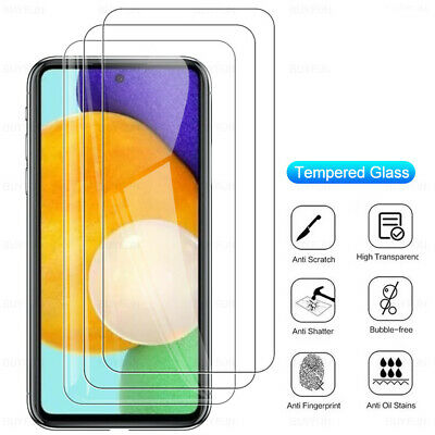 $ CDN3.69 • Buy Glass For Samsung Galaxy A51 A52 A72 A32 A31 A20 A10 Screen Protector Protective