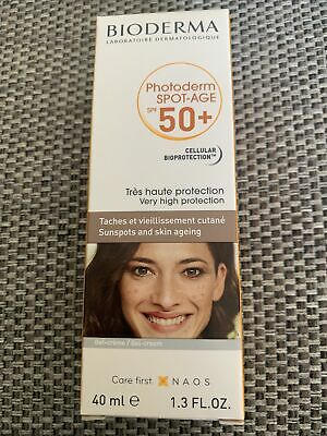 £20 • Buy BIODERMA PHOTODERM Spot-Age SPF50+ 40ml  VERY HIGH PROTECTION  EXP 2021/12 New