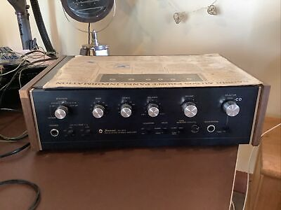 £306 • Buy Sansui AU-505 Solid State Stereo Amplifier