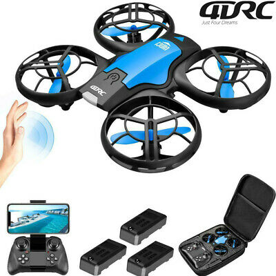 AU57.80 • Buy 360° Mini Drone Smart UFO Aircraft For Kids Flying Toy RC Hand Control Xmas Gift