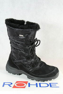 £81.02 • Buy Rohde Women's Boots Ankle Boots Winter Boots Black Sympatex 9364 New