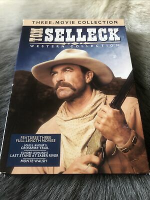 £7.08 • Buy Tom Selleck Western Collection Three Movie Collection DVD