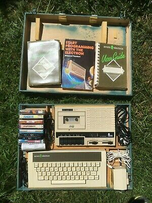 £40 • Buy Acorn Electron With Acorn  Data Recorder , Games, Cables, Manual