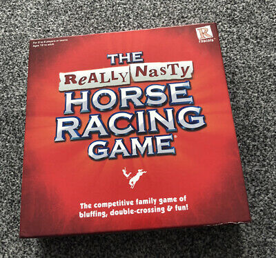 £15 • Buy The Really Nasty Horse Racing Game Board Game - 100% Complete
