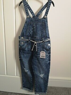 £2.30 • Buy Girls Next Dungarees Age 2-3 BNWT
