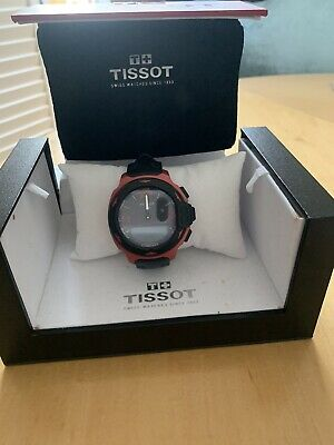 £210 • Buy Mens Tissot T-Race Alarm Chronograph Watch Red T0814209720700