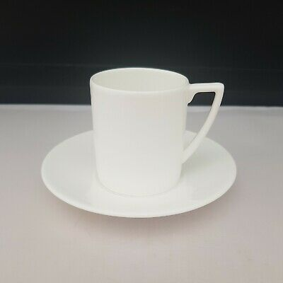£17.99 • Buy Jasper Conran At Wedgwood White Espresso Cup And Saucer