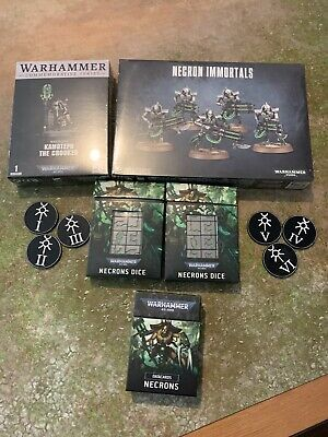 £65 • Buy Warhammer 40k Necrons Limited Edition Cryptek Dice And Immortals