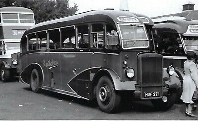 £1.50 • Buy Bus Photo: HUF271 Southdown MS (1271). 1948 Leyland Tiger PS1/1 / Windover C32F