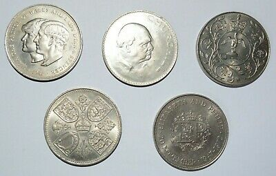 £3.50 • Buy 5 Crowns Dated 1953,1965,1972,1977,1981