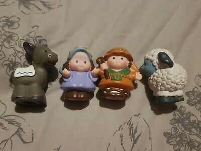 £0.99 • Buy Fisher Price Little People Mary, Joseph, Donkey And Sheep NATIVITY