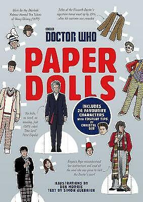 £5.53 • Buy Doctor Who Paper Dolls, Dee, Christel,Guerrier, Simon, Very Good Book