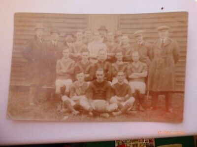 £2.99 • Buy Vintage RP Edwardian Postcard Unknown Football Team Sporting Collectable History