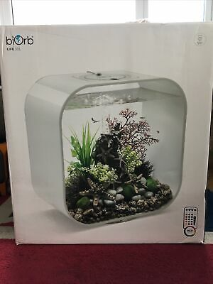 £149.99 • Buy New White BiOrb LIFE 30L - Multi-Coloured Remote-Controlled LED Lighting