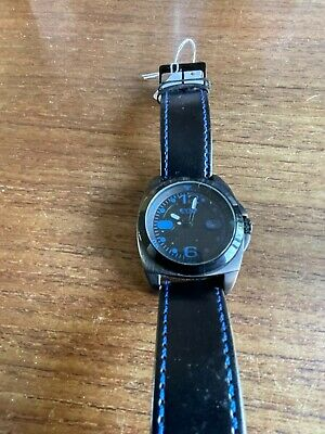 £14.95 • Buy Mens Large Black Faced EYKI Watch With Black Straps  W926/70