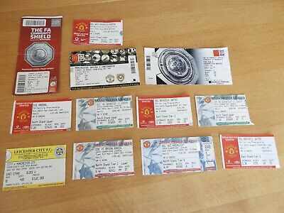 £1.99 • Buy Manchester United Ticket Stubs Including Two Unused Tickets