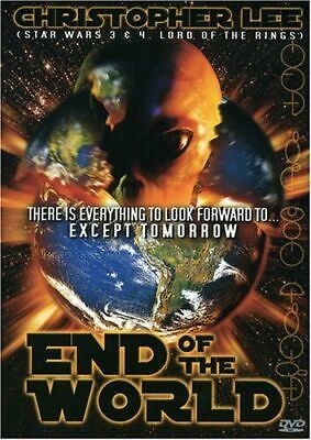 £19.99 • Buy Christopher Lee ( Dracula Hammer Horror Etc ) End Of The World DVD PLAYS IN R 0