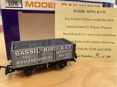 £15 • Buy Wessex Wagons Limited Edition Dapol Walter Bassil King & Co Bournemouth West