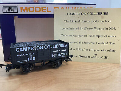 £15 • Buy Wessex Wagons Limited Edition Dapol Camerton Collieries House & Gas Coal Nr Bath