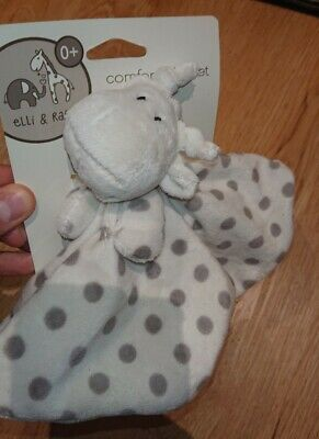 £2.99 • Buy Elli And Raff Baby First Steps Comfort Plush Blanket Cot Toys Giraffe 0-6 Months