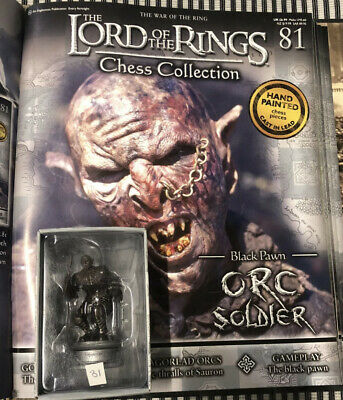 £17.50 • Buy Lord Of The Rings Chess Piece. 3rd Set. Orc Soldier No 81