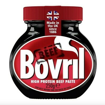 £5.99 • Buy Bovril Paste Jar-250g - Beef Extract Drink, Spread Or Add To Meat Dishes