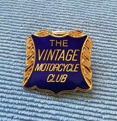 £2.50 • Buy The Vintage Motorcycle Club Badge. Used, Excellent Condition