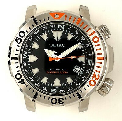 """$ CDN359.32 • Buy Seiko SNM035 """"Land Monster"""" 43mm Automatic Diver's Watch 7S35-00F0"""