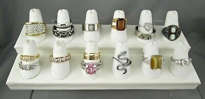 $ CDN24.35 • Buy Vintage To Now LOT Of 19 Costume Fashion Rings Some W Stones Some NWT #5337