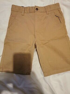 £2 • Buy Boys Tan Coloured Shorts From Dunnes Size 10 Years Worn Once