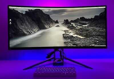 AU619 • Buy Acer Predator X34P Curved GSYNC IPS 34  Gaming LCD