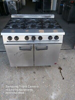 £680 • Buy Falcon 6 Burner Commercial Cooker Heavy Duty With Oven NAT GAS For Catering
