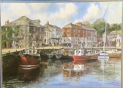 £3.80 • Buy GIBSONS Jigsaw Of Padstow Harbour Painted By Terry Harrison. 1000pcs