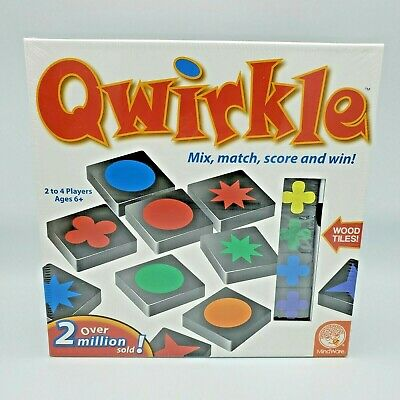 $ CDN32.36 • Buy QWIRKLE Mindware Strategy Mix And Match Tile Board Game - New Sealed