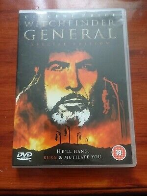 £1.99 • Buy Witchfinder General DVD ( Special Edition ) Starring Vincent Price. Region Free.