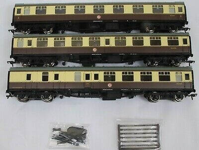 £69.99 • Buy Bachmann OO Gauge 3x Unboxed Mk1 Coaches In GWR Livery Removed From Set 31-2000