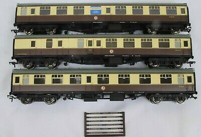 £89.99 • Buy Bachmann OO Gauge 3x Unboxed Mk1 Coaches In GWR Livery Removed From Set 31-2000