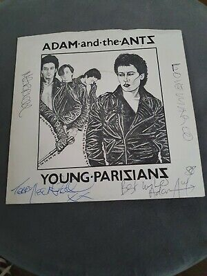 £60 • Buy Adam And The Ants Young Parisians 7inch Vinyl Fully Signed RARE