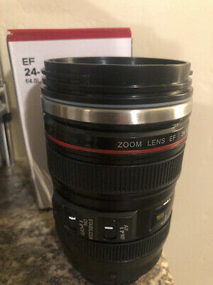 $9 • Buy Camera Lens Thermos Stainless Steel Coffee Mug, Canon EF 25-105mm