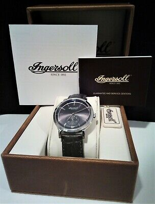 £52 • Buy Ingersoll Springfield Mens Quartz Watch With Sub-Second Dial. INQ012GYSL