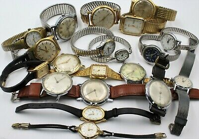 $ CDN4.05 • Buy Lot Of 20 Mens Ladies Wrist Watches Vintage Timex Collection 198-ch