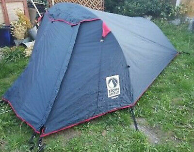 £13.70 • Buy Storm Shield, Lunar 2 Man Tent. Inner Tent With Sewn In Groundsheet. Blue Outer