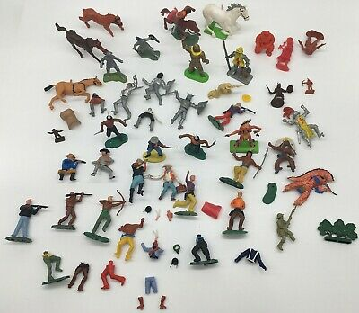 £1.04 • Buy Toy Soldiers Knights Cowboys & Indians Britains Crescent Etc Joblot