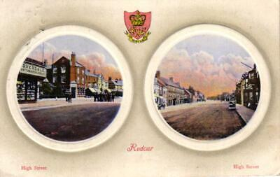 £4.95 • Buy Redcar North Yorkshire 1909 Postcard High St Watchmakers Shop Front Chromo Litho