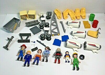£35.04 • Buy Playmobil Pacific Airlines 4310 PLUS People & Parts LOT Of 35+ Pieces (READ)